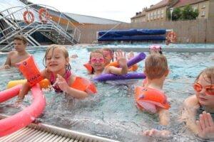 Aqua Lublin- Aquapark_basen zewnętrzny